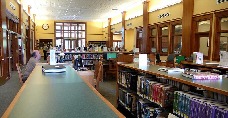 biblioteca panoramica